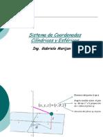 Sistema de Coordenadas Cilíndricas y Esféricas