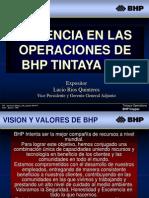 Gerencia en las operaciones BHP Tintaya - LUCIO RIOS QUINTEROS.pptx