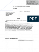Montgomery County Circuit Court Order on DSI