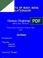 Mind-body Relationship.. Dr Owoeye