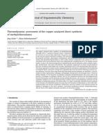 Acker 2008 Journal of Organometallic Chemistry