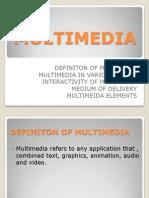 4.0 Multimedia
