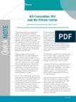 ILO Convention 169 and the Private Sector