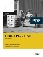 4 Ton and 5 Ton Electric Lift Truck Specs