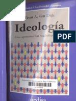 Van Dijk (1998) Ideología, 398 pp