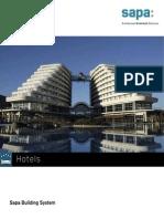 Hotel portfolio by Sapa Building System - EN