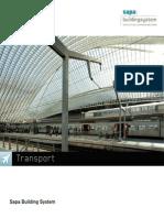 Transportation portfolio by Sapa Building System - EN