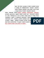 Statistik Pati Di Sabah