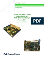 LTRT-77606 AC48x CPE VoIP Toolkit Demo Guide for PMC Reference Design v2.6.1