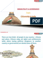 Citizenship in India