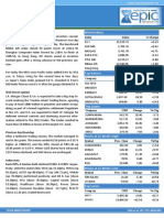 Special Report 18-Sep-2013 by Epic Research