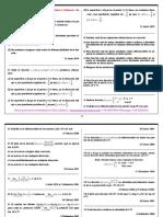 Recopilación ejercicios exámen matemática 1 ADE y grado en economía, ull, Tema 3. Funciones reales de varias variables.