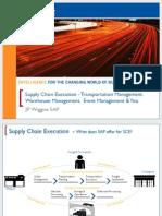 3614 Supply Chain Execution - Transportation Management, Warehouse Management, Event Management and You