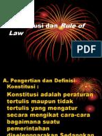 Bab Vi Kosnstitusi Dan Rule of Law