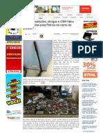 SiteBarra » Armas, munições, drogas e CNH falsa apreendidas pela Polícia no norte do Estado
