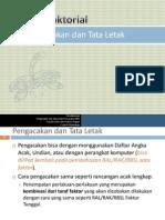 cara pengacakan RAL Faktorial.pdf
