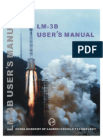 China's Long March 3B Users Manual
