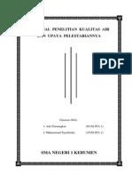 PROPOSAL  PENELITIAN  KUALITAS  AIR.docx