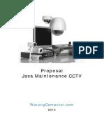 Proposal Maintenance CCTV Ver 1-01