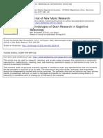 Tervaniemi, M., & Van Zuijen, T. L. (1999). Methodologies of Brain Research in Cognitive Musicology. Journal of New Music Research, 28(3), 200-208.