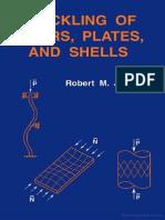 Buckling of Bars Plates and Shells  Robert m Jones