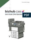 Bizhub C300 Users Guide