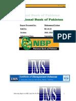 INTERNSHIP REPORT on NBP 2013.doc