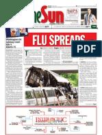 thesun 2009-06-24 page01 flu spreads