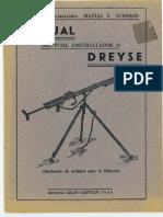 Dreyse 13 Manual Del Fusil Ametrallador