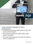 Developing career learning online