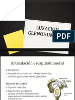 LUXACION GLENOHUMERAL