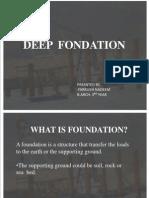11 AR 23, Farrukh Nadeem Deep Fuondation