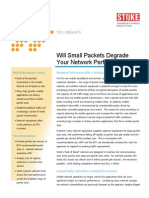 Will Small Packet Size Degrade Your Network Performance