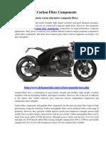 Advantages of Carbon Fibre Components
