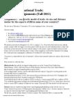 ECN307 Assignments