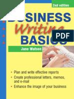 أساسيات الكتابة في الادارة والمراسلات التجارية والالكترونية