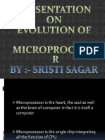Presentation-Evolution of microprocessor