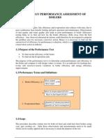 Boiler energy Audit Manual