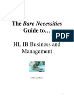 Business IB HL Notes
