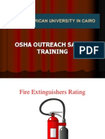 Fire Extinguishers Rating