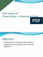 Restaurant - Open Kitchen