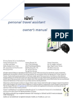 Nuvi Owners Manual