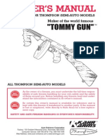 Thompsom Semi-Auto Tommy Gun