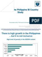 3. DIETRICH - Results of the Philippine IB Country Study