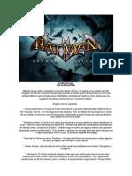 Guia de Acertijos,Cintas y Trofeos de Batman Arkham Asylum
