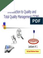TQM LECTURE # 1..pdf