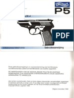 Walther p5 Manual Late Dutch Police