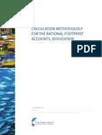 National Footprint Accounts Method Paper 2010