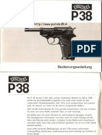 Walther p38 Manual German