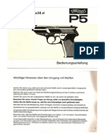 Walther p38 Manual German p5